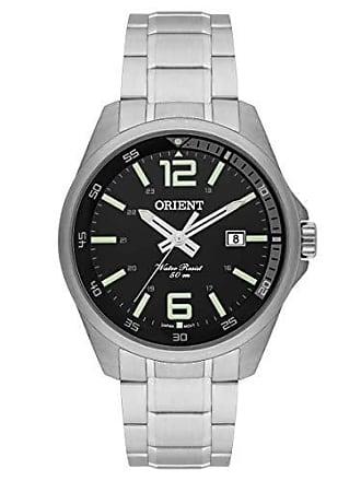 Orient Relógio Masculino Orient Analógico Mbss1275 P2sx - Prata