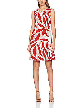 9ec5f7896681 Betty Barclay 6501/1272-Vestito Donna Multicolore (Red/Cream 4811) 46