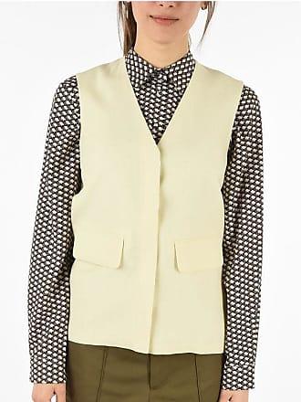 Victoria Beckham VICTORIA linen blend vest size 10