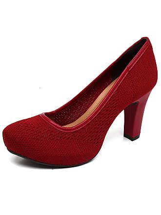 45abdf1b8c Vermelho Scarpins  Compre com até −69%