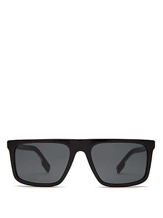 Burberry Penford Square Acetate Sunglasses - Mens - Black
