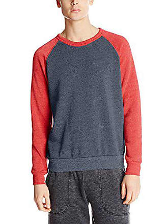 Alternative Mens Colorblock Champ, Navy/Red, Small