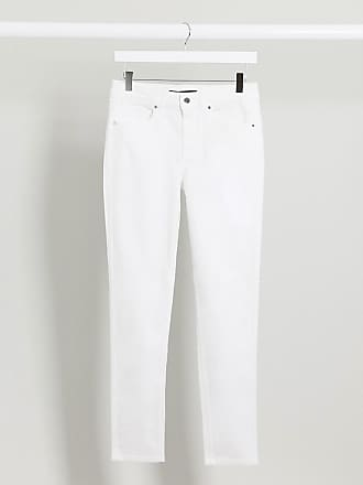 Karen Millen skinny jeans in white