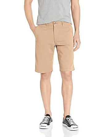 William Rast Mens Ken Fashion Chino Short, Stone Khaki 36