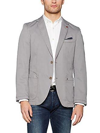 Veste costume coton gris