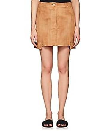 eca1c141c208 Helmut Lang Womens Suede Miniskirt - Neutral Size 12