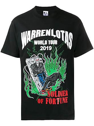 Warren Lotas Camiseta com estampa World Tour - Preto