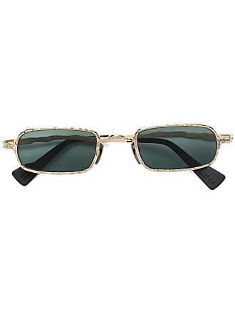 Kuboraum Óculos de sol quadrado - Dourado