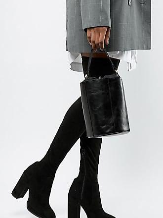 69bef116c27 Asos Petite ASOS DESIGN Petite Kassidy heeled thigh high boots