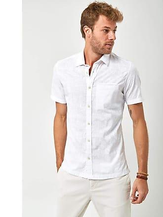 Zapalla Camisa Manga Curta - Branco - Tamanho GG