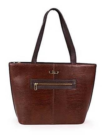Lara Bolsa Shopping Bag Lara de Couro