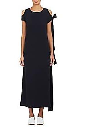 d955c042f45 Helmut Lang Womens Cutout-Shoulder Maxi Dress - Nav Size S