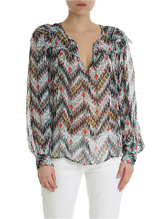 Isabel Marant Enfield multicor blouse in silk