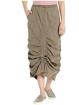 Xcvi Wearables Vintage Skirt in Stretch Poplin (Crux Pigment) Womens Skirt