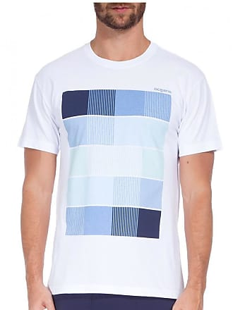 Osklen T-shirt Osklen Stone Tones Of Blue Masculina - Tamanho Camiseta(m) Cores(branco)