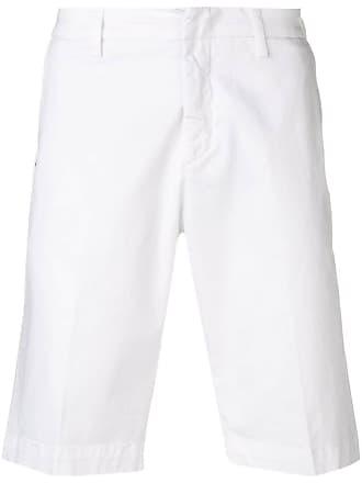 Entre Amis classic chino shorts - Branco