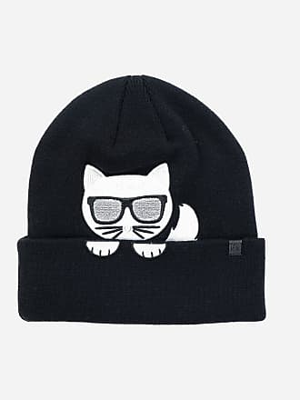 Karl Lagerfeld K/Ikonik Choupette Beanie Hat