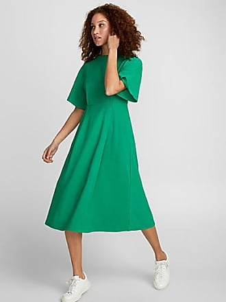 Icone Box pleat fluid dress