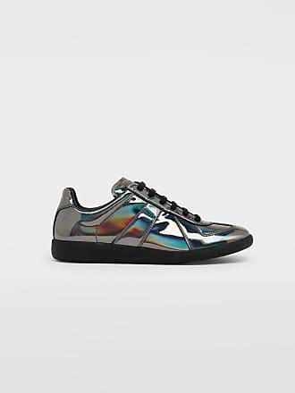 Maison Margiela Maison Margiela Sneakers Steel Grey Polyurethane, Polyester, Bovine Leather