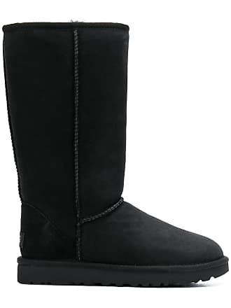 UGG Ankle boot de camurça - Preto