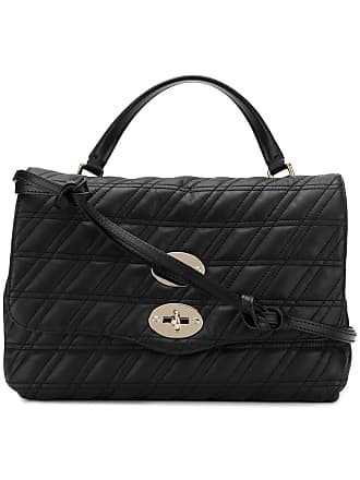 Zanellato quilted shoulder bag - Black