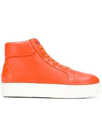 c8b4b084b61e3 Tommy Hilfiger high top sneakers - Orange