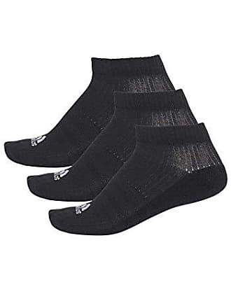 adidas Meia Adidas Liner Cushion 3 Pares - Preto - 35-38