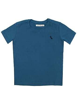 Reserva Mini Camiseta Reserva Mini Menino Lisa Azul