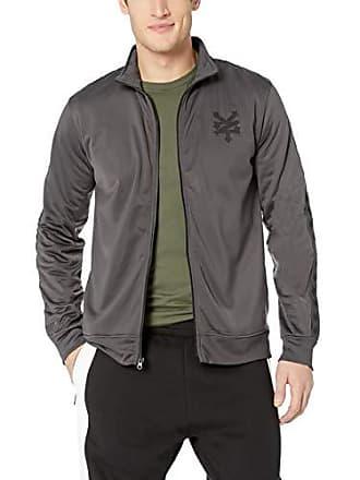 Zoo York Mens Jacquard Taped Zipper Jacket, Work wear, Large
