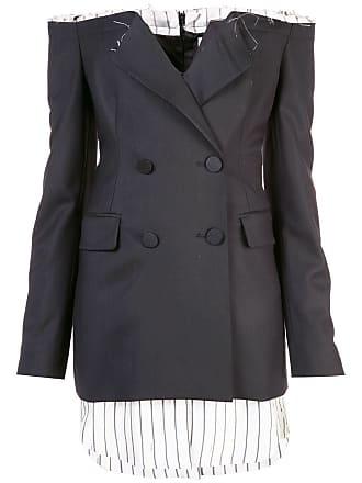 Monse off-shoulder blazer dress - Black