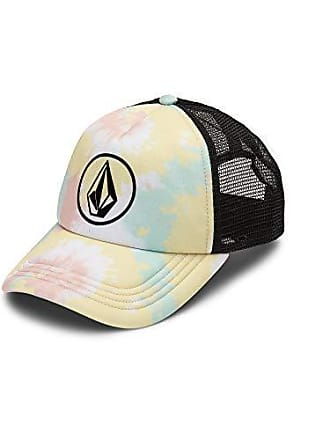 bfbc06c1c7e29a Volcom Womens Juniors Girls Hey Slims Adjustable Trucker Hat, White One  Size Fits All