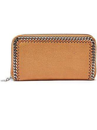 Stella McCartney Stella Mccartney Woman Falabella Faux Brushed-leather Continental Wallet Tan Size