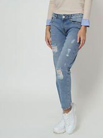 Springfield Jeans con Acabado Desgastado<br>Azul Claro