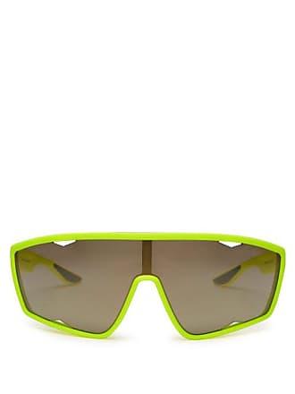 Prada Linea Rossa Angular Sunglasses - Womens - Yellow