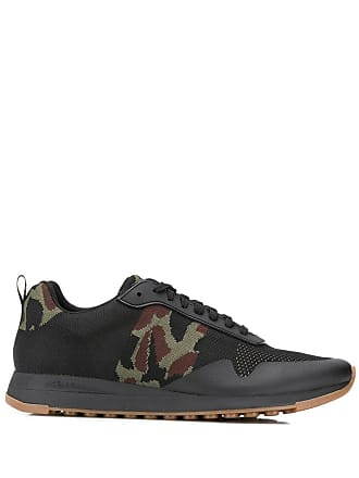 Paul Smith camouflage detail sneakers - Black