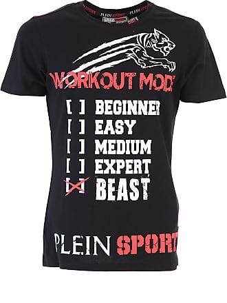 Philipp Plein T-Shirts für Herren, TShirts Günstig im Sale, Schwarz,  Baumwolle 461f345406