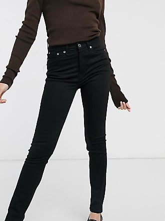 Weekday Thursday organic cotton skinny jean in black