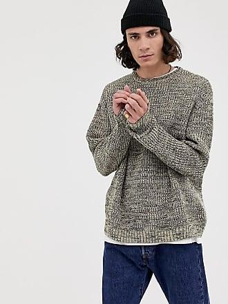 11578f8723484 Asos knitted oversized rib sweater in ecru twist - Cream
