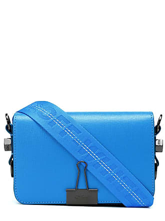 Off-white Small Binder Clip leather shoulder bag