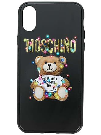 Moschino Teddy bear Iphone X case - Black
