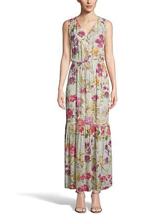 5twelve Floral Sleeveless Tiered Maxi Dress