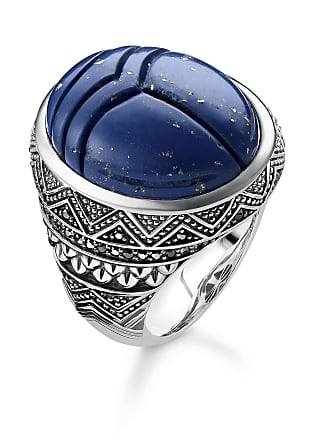 Thomas Sabo Thomas Sabo ring blue TR2205-534-1-48