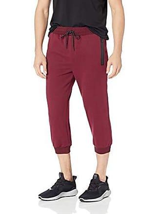 2(x)ist Mens Crop Lounge Pant Pants, Speckled Burgundy, X-Large