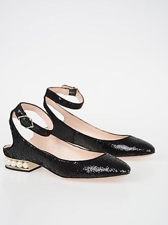 c573190a7783a4 Nicholas Kirkwood 2 cm Sequined Ballet Flats Größe 36