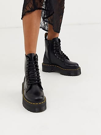Dr. Martens Leather Boots − Sale: up to