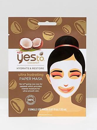 Yes To Yes To Coconuts - Ultra-feuchtigkeitsspendende Papiergesichtsmaske-Keine Farbe