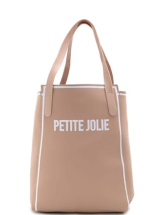 Petite Jolie Bolsa Petite Jolie Logo Nude