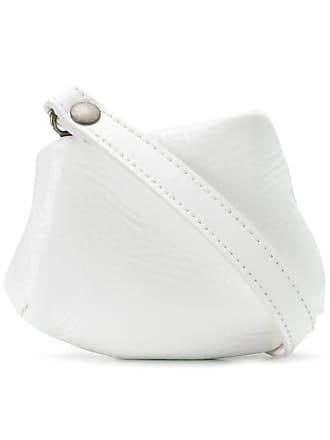 Marsèll Bolsa tiracolo mini de couro - Branco