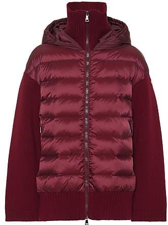 Spedizione  gratuita. Moncler Cardigan in lana con piumino 666953ae515