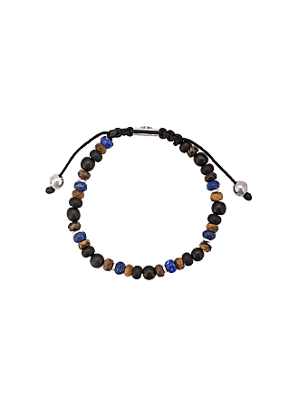 Nialaya Pulseira ajustável de pedras - Azul